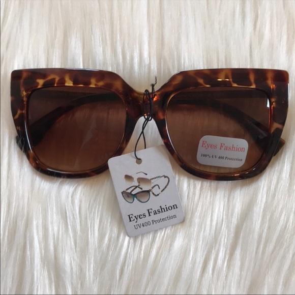 83f51a0b6ea0 New Sunglasses Brown Cat Eye Tortoise Shell Frames